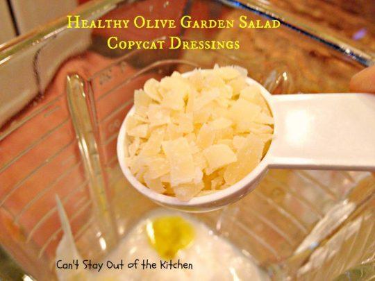 Healthy Olive Garden Salad Copycat Dressings - IMG_4937