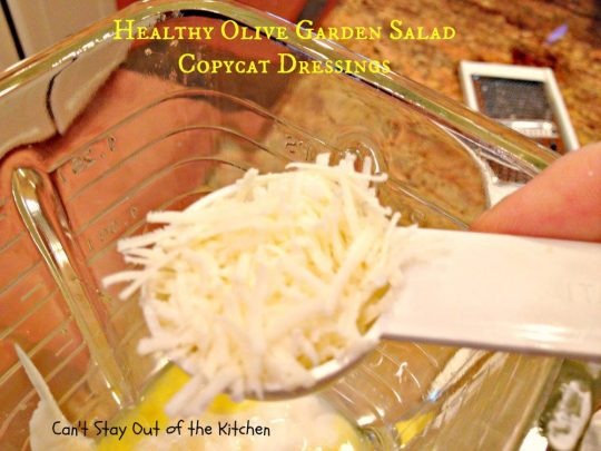 Healthy Olive Garden Salad Copycat Dressings - IMG_4938