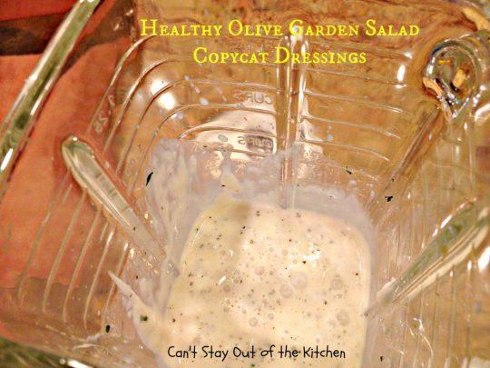 Healthy Olive Garden Salad Copycat Dressings - IMG_4944