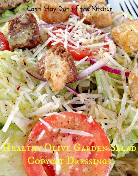 Healthy Olive Garden Salad Copycat Dressings - IMG_5741