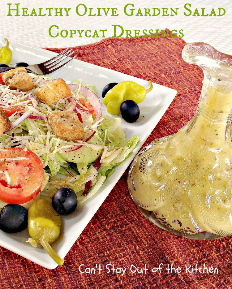 Olive Garden Style Salad With Creamy Italian Dressing Today Com