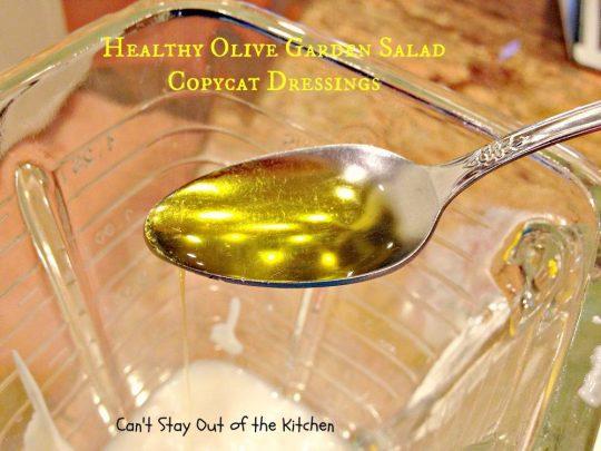Healthy Olive Garden Salad Dressing - IMG_4935