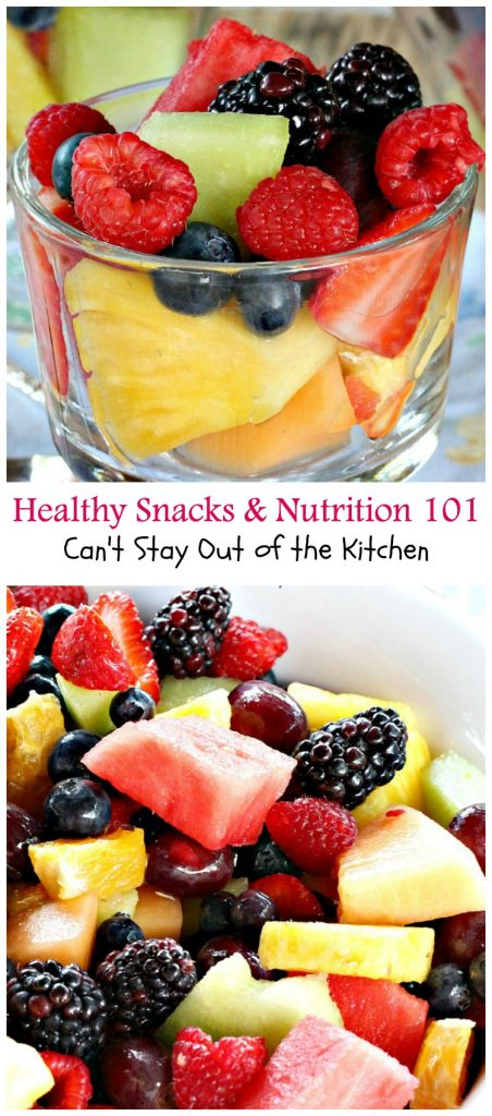 Healthy Snacks & Nutrition 101 | Can't Stay Out of the Kitchen