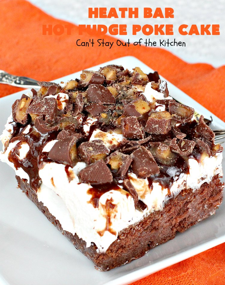Heath Bar Cake Recipe No Eggs