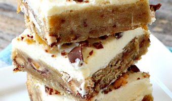 Heath Bars with Buttercream Frosting