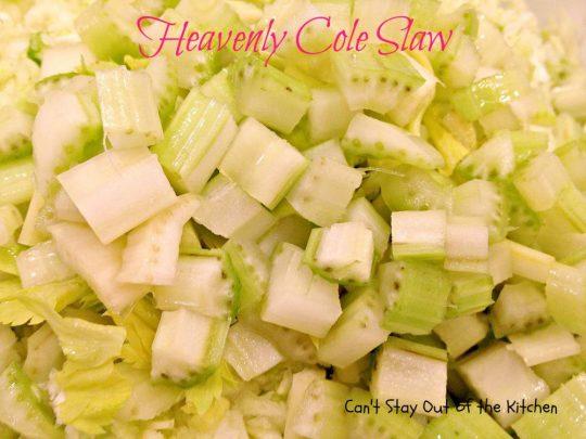 Heavenly Cole Slaw - IMG_5335