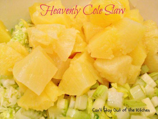 Heavenly Cole Slaw - IMG_5336