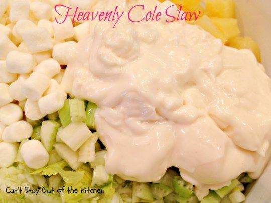 Heavenly Cole Slaw - IMG_5338
