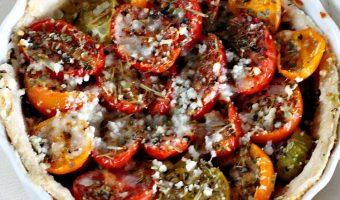 Heirloom Tomato Tarts