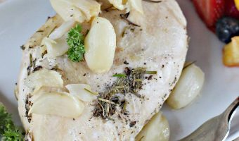 Herb Chicken with Roasted Garlic