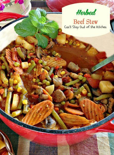 Herbed Beef Stew - IMG_5880