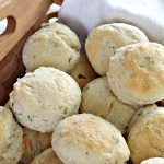 Herbed Biscuits   Can't Stay Out of the Kitchen   these homemade #biscuits puff up big and beautiful. With the addition of fresh herbs they are absolutely scrumptious. Perfect side dish for company, family or #holiday meals like #FathersDay. #bread #HerbedBiscuits