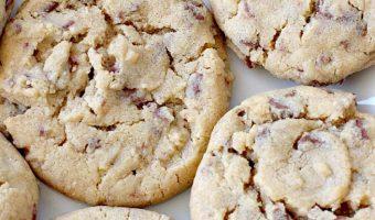 Hershey's Nugget Peanut Butter Cookies