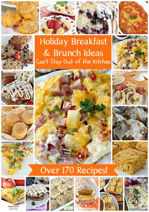 Holiday Breakfast & Brunch Ideas | Can't Stay Out of the Kitchen
