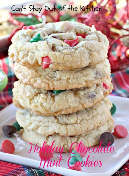 Holiday Chocolate Mint Cookies - IMG_9371
