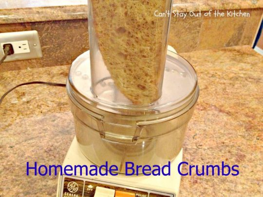 Homemade Bread Crumbs - IMG_0146