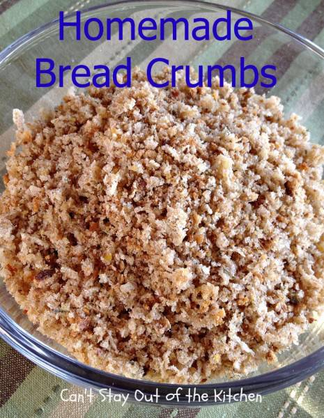 Homemade Bread Crumbs - IMG_0157