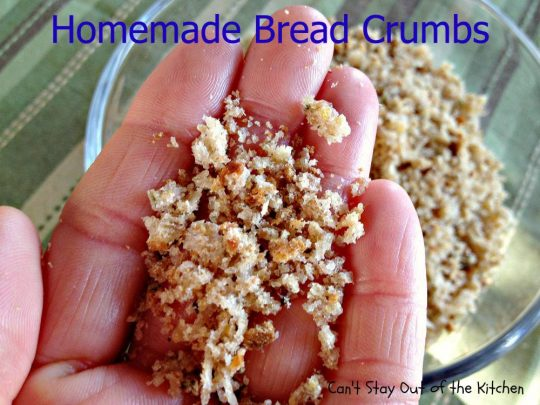 Homemade Bread Crumbs - IMG_0160
