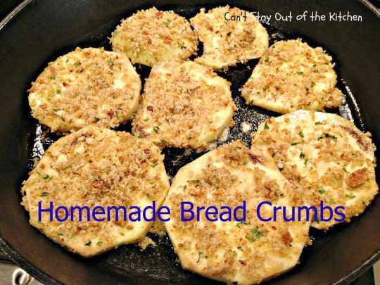 Homemade Bread Crumbs - IMG_0170