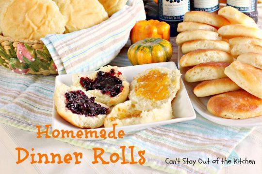 Homemade Dinner Rolls - IMG_4837