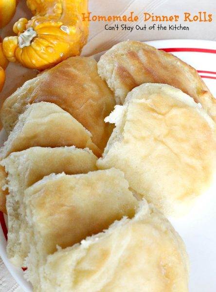 Homemade Dinner Rolls | Can't Stay Out of the Kitchen | LOVE these #no-knead dinner #rolls. #bread