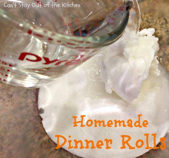 Homemade Dinner Rolls - IMG_8885
