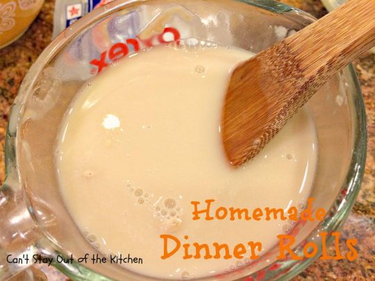 Homemade Dinner Rolls - IMG_8890