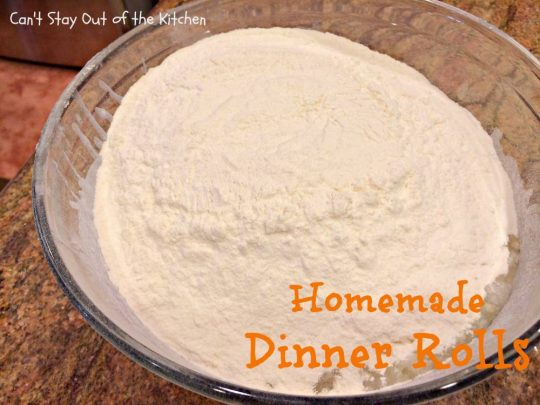 Homemade Dinner Rolls - IMG_8895