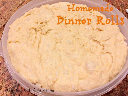 Homemade Dinner Rolls - IMG_9071