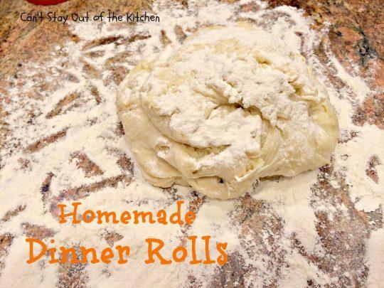 Homemade Dinner Rolls - IMG_9073