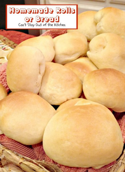 Homemade Rolls or Bread - Recipe Pix 8 259