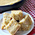 Honey Buttermilk Cornbread   Can't Stay Out of the Kitchen   my favorite #cleaneating version of #cornbread that is incredibly delicious. Bake in a #castironskillet or baking dish. Great #breakfast idea.