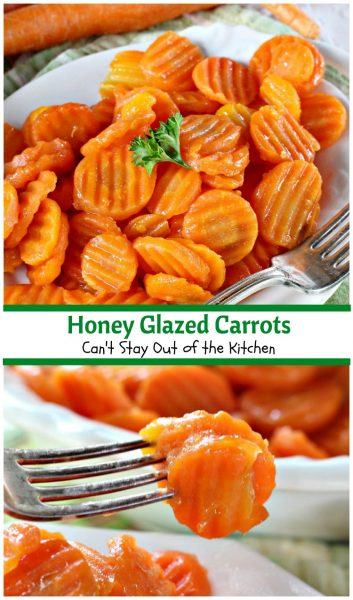 Honey Glazed Carrots | Can't Stay Out of the Kitchen | love this quick and easy 5-ingredient #sidedish. #carrots #glutenfree
