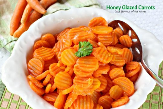 Honey Glazed Carrots - IMG_5428