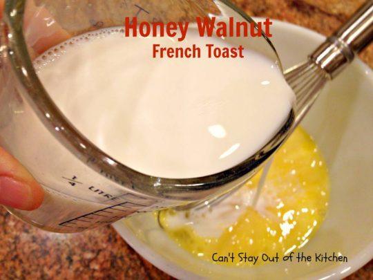 Honey Walnut French Toast - IMG_2080