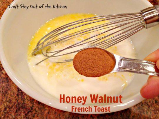 Honey Walnut French Toast - IMG_2081