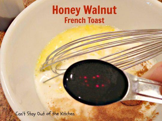 Honey Walnut French Toast - IMG_2082