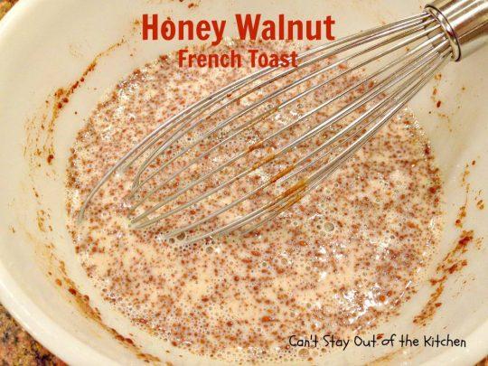 Honey Walnut French Toast - IMG_2083