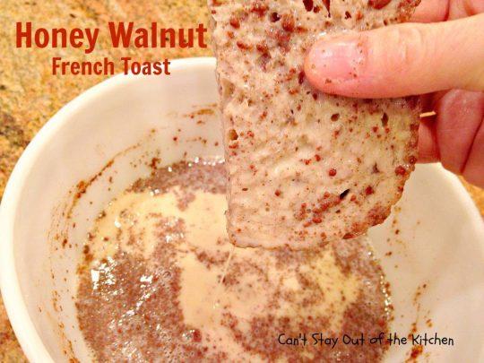 Honey Walnut French Toast - IMG_2087