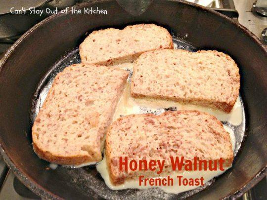 Honey Walnut French Toast - IMG_2088