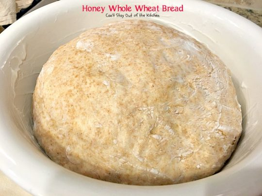 Honey Whole Wheat Bread | Can't Stay Out of the Kitchen | our favorite homemade #bread recipe. It's absolutely delicious. #wholewheat