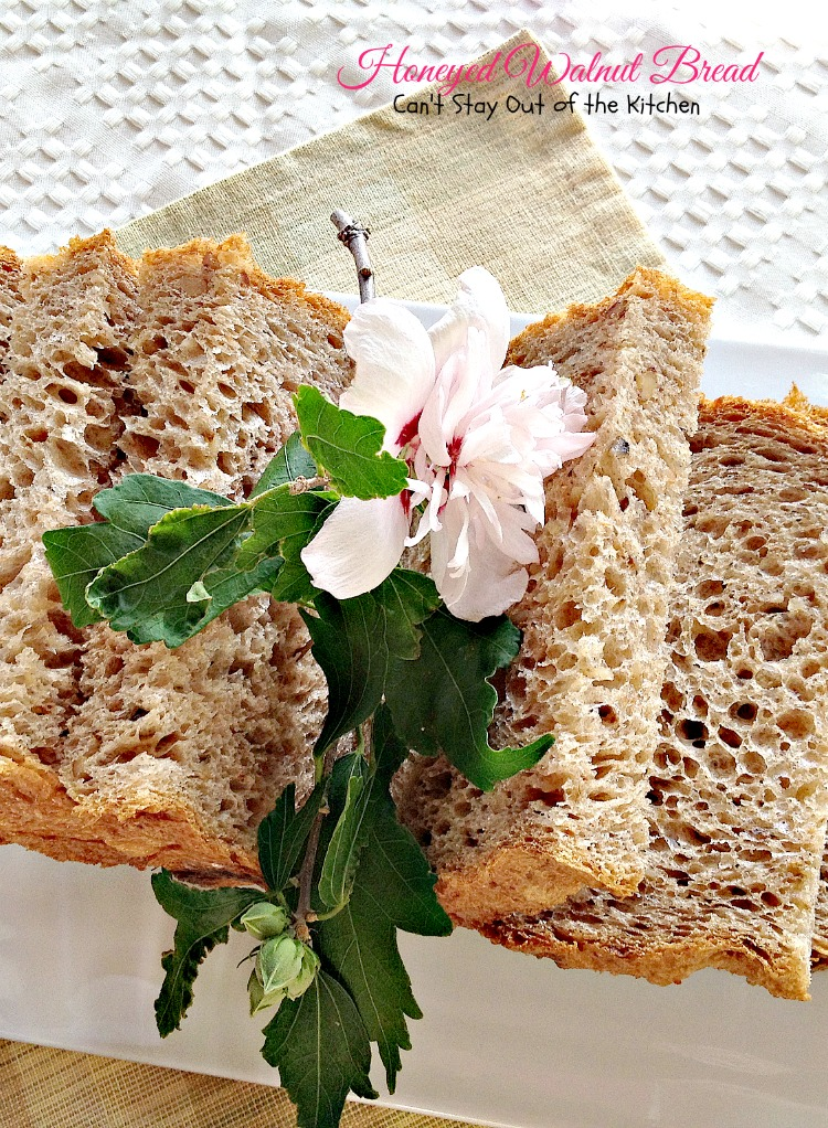 Honeyed Walnut Bread