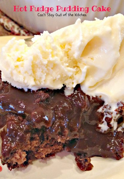 Here's another look at Hot Fudge Pudding Cake after it comes out of ...