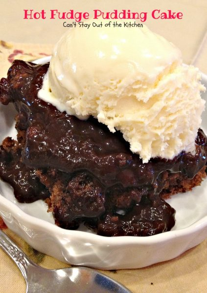 Hot Fudge Pudding Cake makes it's own fudge sauce while baking. Our ...