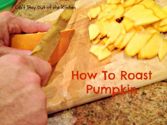How To Roast Pumpkin - IMG_7738