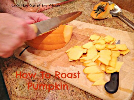 How To Roast Pumpkin - IMG_7739