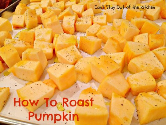 How To Roast Pumpkin - IMG_7746