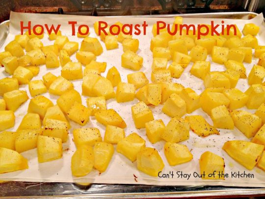 How To Roast Pumpkin - IMG_7809