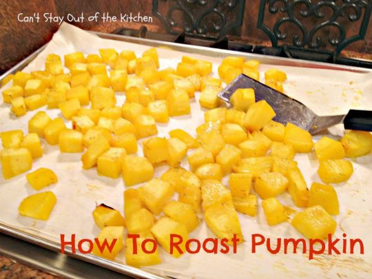 How To Roast Pumpkin - IMG_7811