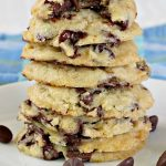 Ice Cream Chocolate chip Cookies | Can't Stay Out of the Kitchen
